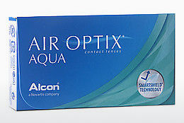 Kontaktiniai lęšiai Alcon AIR OPTIX AQUA (AIR OPTIX AQUA AOA3)