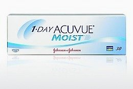 Kontaktiniai lęšiai Johnson & Johnson 1 DAY ACUVUE MOIST 1DM-90P-REV