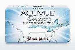 Kontaktiniai lęšiai Johnson & Johnson ACUVUE OASYS with HYDRACLEAR Plus PH-6P-REV