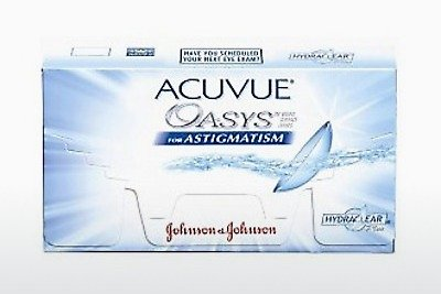 Kontaktiniai lęšiai Johnson & Johnson ACUVUE ADVANCE for ASTIGMATISM AGT-6P-REV