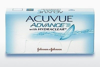 Kontaktiniai lęšiai Johnson & Johnson ACUVUE ADVANCE with HYDRACLEAR AVG-6P-REV