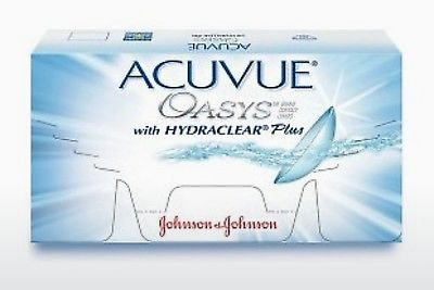 Kontaktiniai lęšiai Johnson & Johnson ACUVUE OASYS with HYDRACLEAR Plus PH-12P-REV