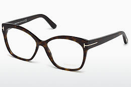 Akiniai Tom Ford FT5435 052 - Rudi, Dark, Havana