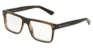 Dolce & Gabbana DG3227 2925 STRIPED TOBACO