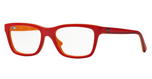 Ray-Ban Junior RY1536 3599 TOP CORAL ON ORANGE