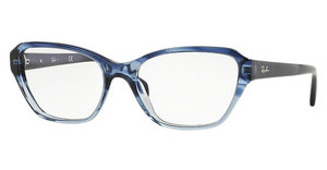 Ray-Ban RX5341 5572 GRADIENT STRIPED BLUE