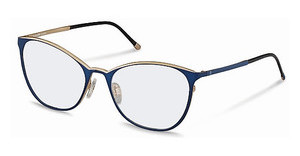 Rodenstock R2568 C dark blue, rose gold
