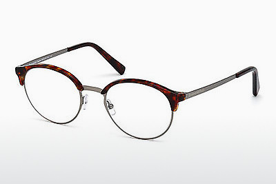 Akiniai Ermenegildo Zegna EZ5015 053 - Havanna, Yellow, Blond, Brown