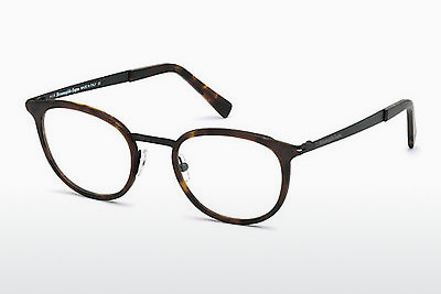 Akiniai Ermenegildo Zegna EZ5048 053 - Havanna, Yellow, Blond, Brown