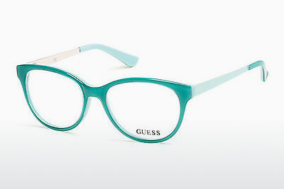 Akiniai Guess GU2539 093 - Žali, Bright, Shiny
