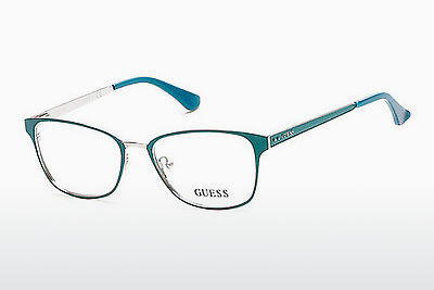 Akiniai Guess GU2550 094 - Žali, Bright, Matt