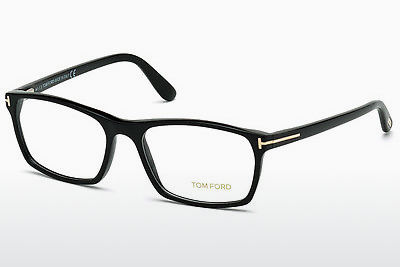 Akiniai Tom Ford FT5295 001 - Juodi, Shiny