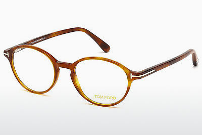 Akiniai Tom Ford FT5305 053 - Havanna, Yellow, Blond, Brown