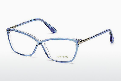 Akiniai Tom Ford FT5375 086 - Mėlyni, Azurblue