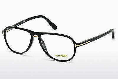 Akiniai Tom Ford FT5380 001 - Juodi, Shiny