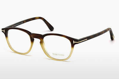 Akiniai Tom Ford FT5389 053 - Havanna, Yellow, Blond, Brown