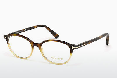 Akiniai Tom Ford FT5391 053 - Havanna, Yellow, Blond, Brown