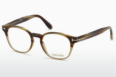 Akiniai Tom Ford FT5400 65A - Rago spalvos, Horn, Brown