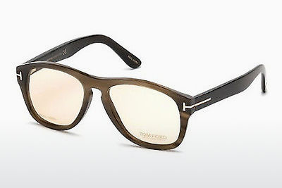 Akiniai Tom Ford FT5440-P 64E - Rago spalvos, Horn, Brown