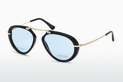 Akiniai Tom Ford FT5442-P 62V - Rudi, Horn, Ivory
