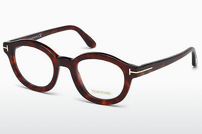 Akiniai Tom Ford FT5460 054 - Raudoni, Rudi, Havanna