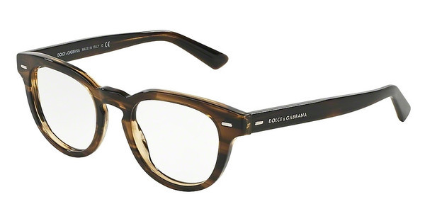 Dolce & Gabbana   DG3225 2925 STRIPED TOBACO