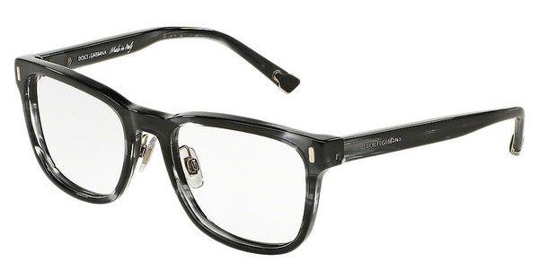 Dolce & Gabbana DG3241 2924 STRIPED ANTHRACITE