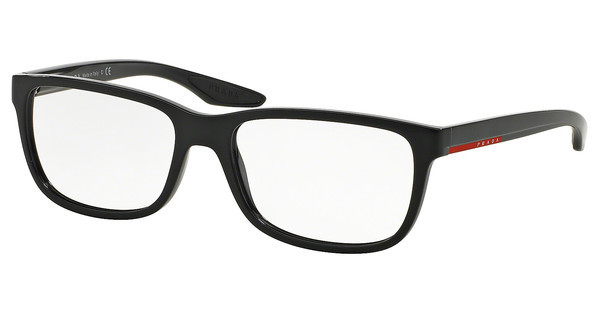 Prada Sport PS 02GV UB71O1 GLOSS BLACK GRADIENT MATTE