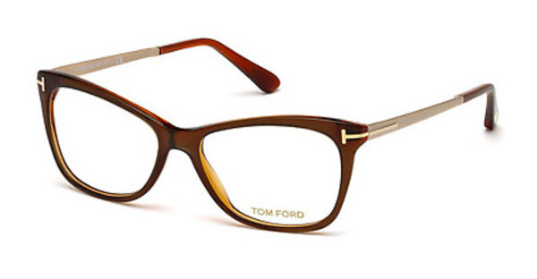 Tom Ford FT5353 042 orange glanz