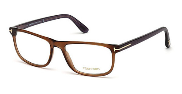 Tom Ford FT5356 048 braun dunkel glanz