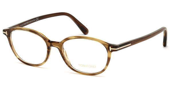 Tom Ford FT5391 048 braun dunkel glanz