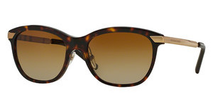 Burberry BE4169Q 3002T5 POLAR BROWN GRADIENTDARK HAVANA