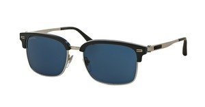 Bvlgari BV7026 535780 BLUESAND GREY ON BLUE HORN/MT SIL