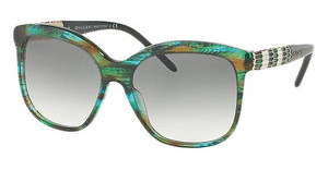 Bvlgari BV8155 53408E GREEN GRADIENTGREEN FANTASY