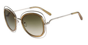 Chloé CE123S 743 GOLD-TRANSPARENT LIGHT BROWN