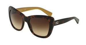 Dolce & Gabbana DG4260 295613 BROWN GRADIENTTOP HAVANA ON GOLD