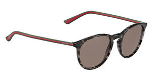 Gucci GG 1102/S GYM/CO RED BROWNHVGYGRNRD