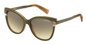 Max Mara MM LAYERS II CKN/ED BROWN DSGRNBWBKGD (BROWN DS)
