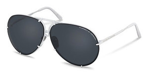 Porsche Design P8478 P grey blue + mercury silver mirroredwhite