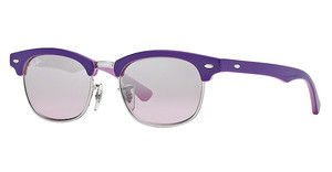 Ray-Ban Junior RJ9050S 179/7E PINK MIRROR SILVER GRADIENTTOP VIOLET ON PINK