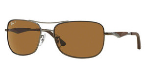 Ray-Ban RB3515 029/83 POLAR BROWNMATTE GUNMETAL