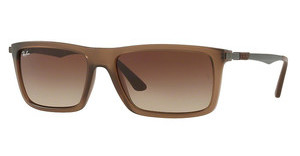 Ray-Ban RB4214 629813 BROWN GRADIENTMATTE TRANSPARENT BROWN