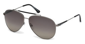 Tom Ford FT0378 10D nickel/zinn hell glanz/grau polar.