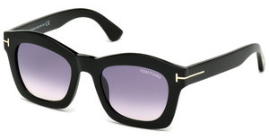 Tom Ford FT0431 01Z verspiegeltschwarz glanz