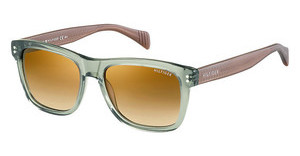 Tommy Hilfiger TH 1254/S 4JY/7B BROWN SS BRZTRGRNBRWN (BROWN SS BRZ)