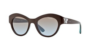 Vogue VO2872S 218548 azure gradientbrown