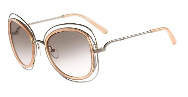 Chloé CE123S 724 GOLD-TRANSPARENT PEACH