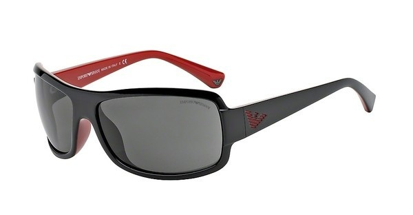 Emporio Armani EA4012 506187 GRAYTOP BLACK ON RED