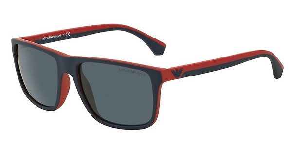 Emporio Armani EA4033 532587 GREYBLUE/RED RUBBER