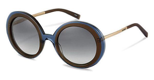 Jil Sander J0002 D sun protect - smokx grey gradient - 68%brown blue